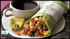 Who said food storage meals are boring? Breakfast Burritos made with THRIVE freeze dried ingredients. Delicious!  THRIVE foods are amazing and most have a 25 year shelf life. See more recipes and videos at www.srmarketplace.com