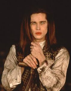 Brad Pitt as Louis in Interview With the Vampire.....@Brooke Firestine