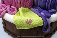 great tut on how to make everything including the basket, yarn, needles and knitting.