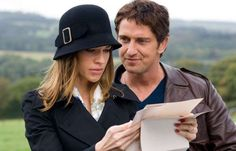 """HILARY SWANK AND GERARD BUTLER As Holly and Gerry Kennedy in """"P.S. I Love You"""" (2007)"""