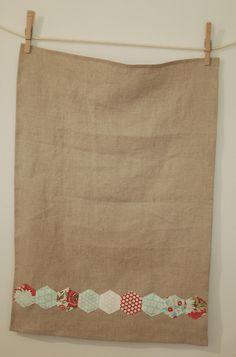 hexie tea towel | Flickr - Photo Sharing!