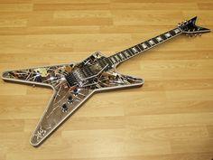 Dean Guitars, Bass Guitars, Epiphone Les Paul, Dimebag Darrell, Music Stuff, Musical Instruments, Porn, Electric, Bike