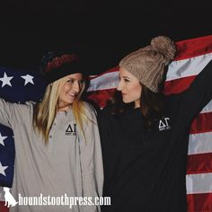Delta Gamma Henley  #LoveTheLab houndstoothpress.com | Fraternity and Sorority…