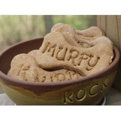 Personalized Homemade Dog Cookies