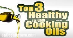 awesome Top 3 Healthy Non-GMO Cooking Oilsby http://dezdemoon-cooking.gdn