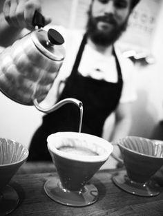 Barista - Coffee - Slow coffee  www.dekoffiefilters.nl