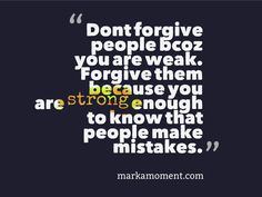 Daily thought of the day to enhance positive energy. People Make Mistakes, How To Motivate Employees, Motivational Quotes, Inspirational Quotes, Daily Thoughts, Special Words, Employee Gifts, Thought Of The Day, You Are Strong
