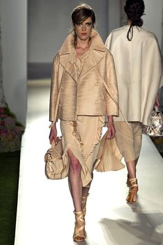 Mulberry Spring 2013. Structured Ruffles.