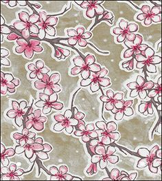 Oilcloth By The Yard - Floral