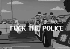 Fuck the police, Homer's style