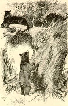 Mowgli In the forest with Bagheera and Baloo--The Jungle Book