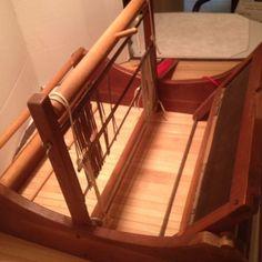 Vintage-Wood-Tabletop-Weaving-Loom