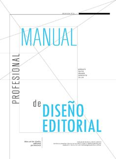 Manual diseño editorial
