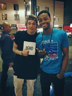 USA, Hollywood - Jeppe Bjerregaard and King Bach !