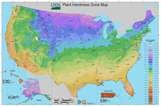 How to Use the New Online USDA Hardiness Zone Map