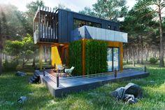 Фасад с контейнеров - Галерея 3ddd.ru