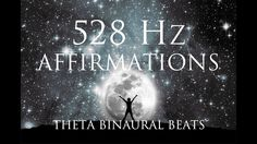 528 Hz Affirmations: Inner Power, Purpose, Self Love, Inner Peace & Happ...