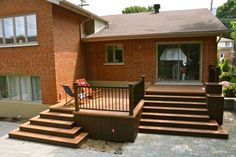 deck kits ,wood veneers for decking Canada,build a larger wood deck over a concrete patio