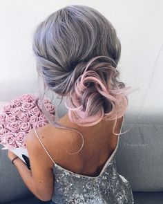 Grey and Baby Pink.