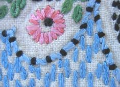- Outline Stitches on Pinterest Running Stitch, Back Stitch ...