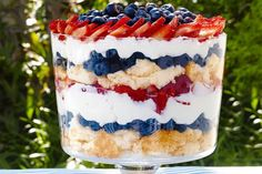 This All-American dessert will have your guest coming back for seconds. Berry Trifle absolutely delicious and it's not that hard to make!
