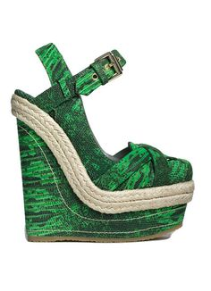 This Mulberry wedge was all over spring trend reports. It is gorgeous.
