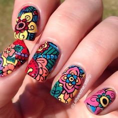 Instagram media by ladyandthe_stamp #nail #nails #nailart CLICK.TO.SEE.MORE.eldressico.com