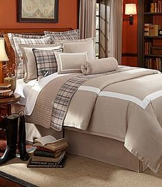 CREMIEUX Taupe Tan AVIGNON Herringbone 4PC KING COMFORTER SET - Designed in France Cremieux,http://www.amazon.com/dp/B00GIR8YHA/ref=cm_sw_r_pi_dp_DCXUsb0AKDSMRE3E