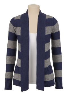 Striped Cardigan available at #Maurices