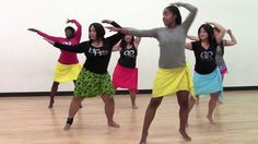 """Hot Hula""... who knew?  HOT HULA fitness Dance Workout - Week 1 - Part 1 ( Looks like a great workout for abs.)"