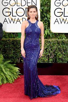 Pin for Later: Seht alle Stars auf dem roten Teppich bei den Golden Globes! Maria Menounos