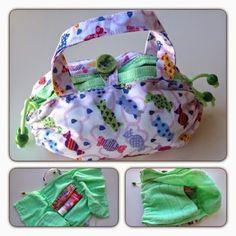 Necessaire de toalha @ Meu Recreio blog
