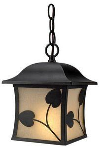 Hardware-House 10-3527 Madison - One Light Outdoor Hanging Lantern, Royal Bronze Finish with Honey Linen Glass by Hardware House. $34.30. Dimable: TRUE.