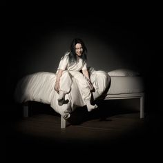 Billie Eilish When We All Fall Asleep Where Do We Go Poster Album CoverArt Silk Fabric Cloth Print - Size - Products - Girls Iconic Album Covers, Cool Album Covers, Music Album Covers, Music Albums, Dj Music, Billie Eilish, Photo Wall Collage, Picture Wall, Justin Bieber