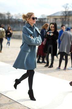 Olivia Palermo at Paris Fashion Week
