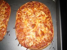 Flatout pizzas....yum.