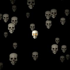 Scary Wallpaper, Spawn Comics, Simpsons Art, Trap Music, Badass Quotes, Skull Design, Skull And Bones, Skull Art, How To Introduce Yourself