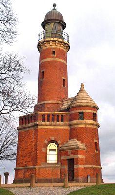 Holtenau Lighthouse, Germany