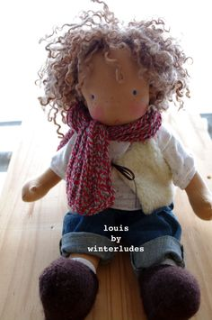 louis waldorf doll by winterludes