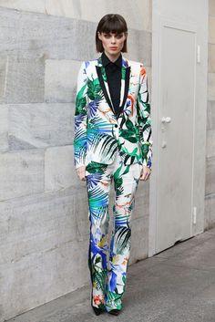 Coco Rocha.. MFW..... - Celebrity Fashion Trends