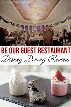 Does their service pass the test?! Check out my review of Be Our Guest Restaurant at the Magic Kingdom at Disney to find out if it's worth it to try and get one of their coveted reservations! #disneydining #disneyworld #disney | be our guest | disney dining reservation | disney tips | disney secrets Magic Kingdom Restaurants, Disney World Restaurants, Walt Disney World Vacations, Disney Travel, Dining At Disney World, Disney World Food, Disney Dining Plan, Disney Worlds, Disney Secrets