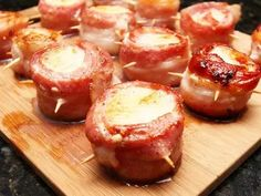 Bacon Appetizers, Appetizer Recipes, Appetizer Ideas, Seafood Recipes, Cooking Recipes, Smoker Recipes, Seafood Dishes, Diet Recipes, Healthy Recipes