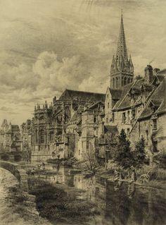 Caen egliseaintpierre odon congres - Odon (rivière) — Wikipédia