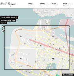 stamen design   Announcing Field Papers