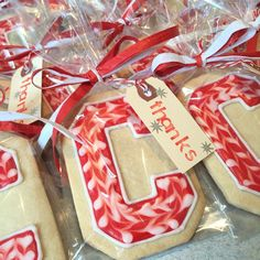 Another great picture of Cornell University inspired cookies posted on Instagram by lucky_bites