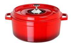 Art and Cuisine Cocotte Series Cast Aluminum Round Soup Pot, Red, 7-1/4-Qt. * Check out this great product.