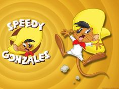 Speedy Gonzales is an animated caricature of a mouse in the Warner Brothers Looney Tunes and Merrie Melodies series of cartoons. Description from pinterest.com. I searched for this on bing.com/images