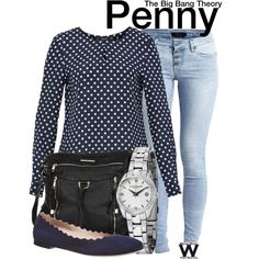 Inspired by Kaley Cuoco Sweeting as Penny on The Big Bang Theory.