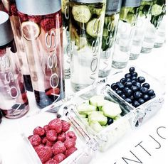 If you are at theaptmt for brunch be sure to try our 1 Cucumber Mint Lemon 2 Raspberry Blueberry Lime infusions they are the perfect refreshments myberlinfashion Infused Water Recipes, Fruit Infused Water, Fruit Water, Cucumber Water Benefits, Cucumber Detox Water, Fruit Drinks, Healthy Drinks, Detox Drinks, Detox Juice Cleanse