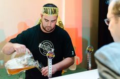 CAUTION: Brewing The Green Tease at the Chef n' Brew Festival